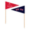 Boston Red Sox Toothpick Flags