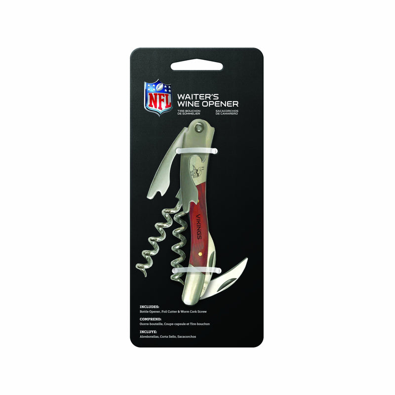 Minnesota Vikings Wine Bottle Opener
