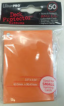Deck Protectors - U/P Small Size- Orange (12 packs of 50)