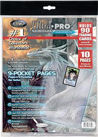 Ultra Pro 9-Pocket Pages Retail pack (10ct)