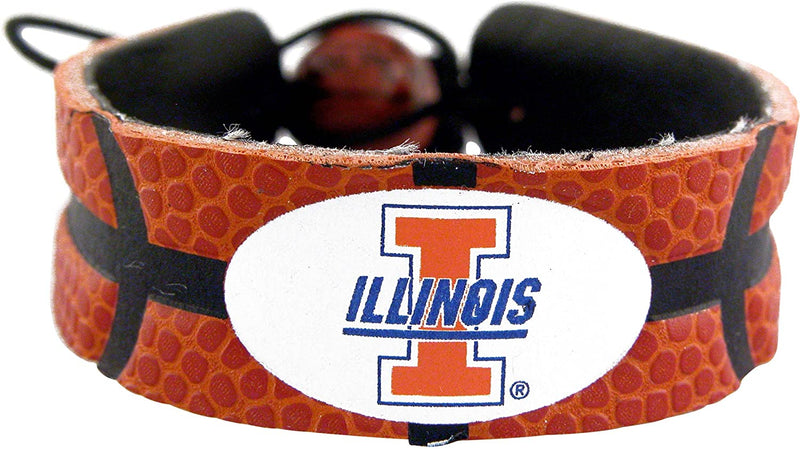 Illinois Fighting Illini Bracelet Classic Basketball