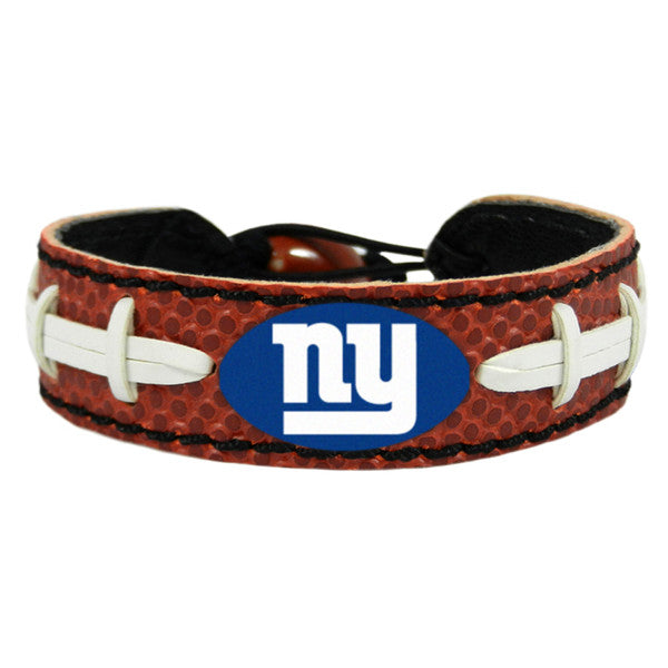 New York Giants Classic Football Bracelet