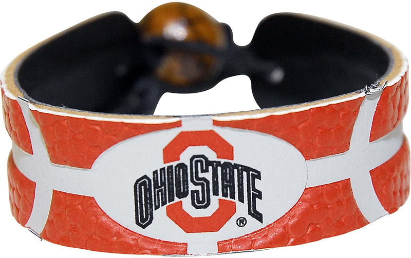 Ohio State Buckeyes Bracelet Team Color Basketball