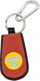 Denver Nuggets Keychain Team Color Basketball Carmelo Anthony