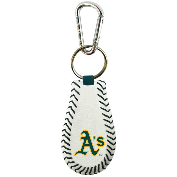 Oakland Athletics Keychain Classic Baseball