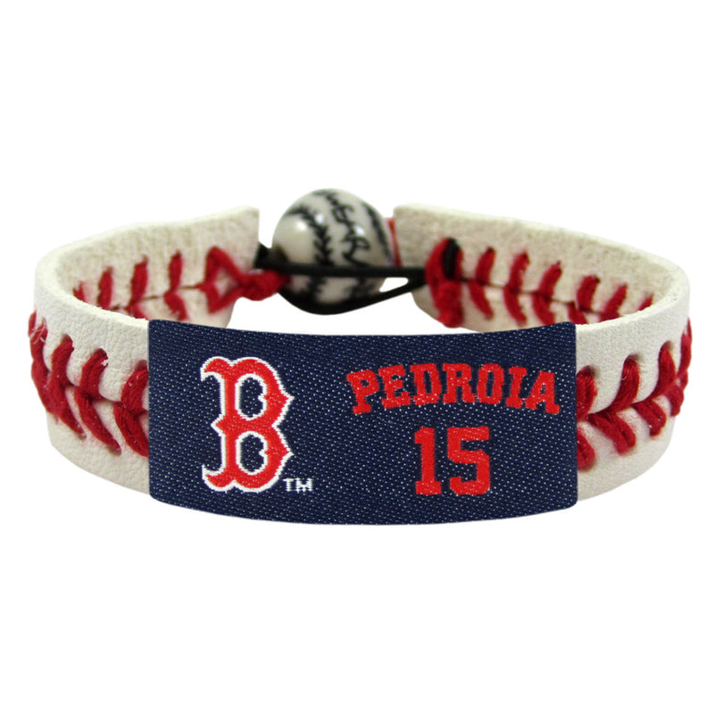 Boston Red Sox Bracelet Baseball Dustin Pedroia