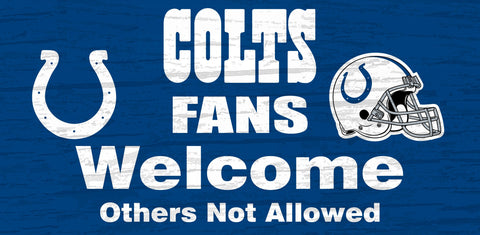 NFL - Indianapolis Colts - Signs