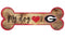 Georgia Bulldogs Sign Wood 6x12 Dog Bone Shape