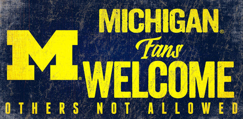 NCAA - Michigan Wolverines - Signs