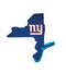 New York Giants Sign Wood Logo State Design