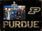 Purdue Boilermakers Clip Frame