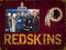 Washington Redskins Clip Frame