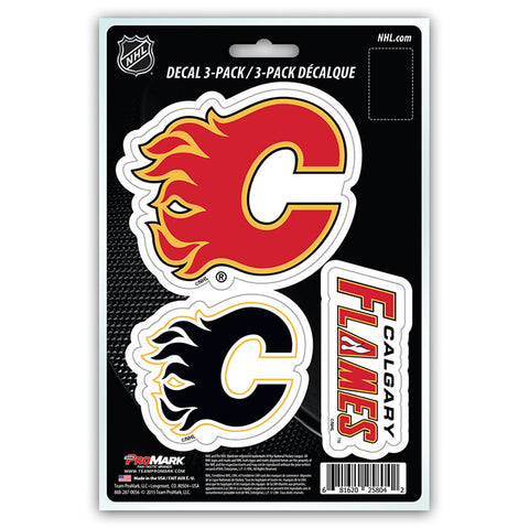 NHL - Calgary Flames - Decals Stickers Magnets