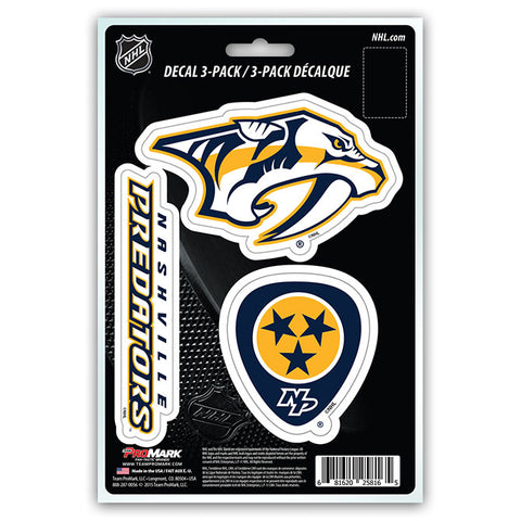 NHL - Nashville Predators - Decals Stickers Magnets