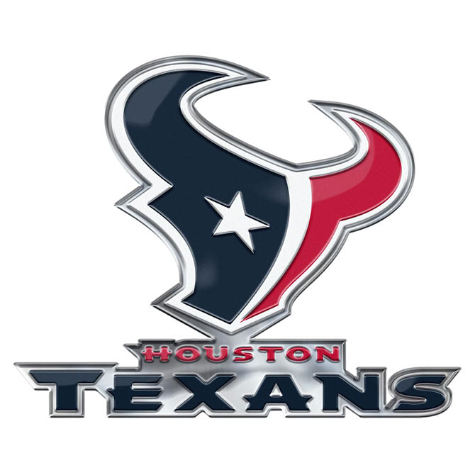 Houston Texans Auto Emblem Color Alternate Logo