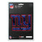 New York Giants Decal 5x8 Die Cut 3D Logo Design