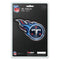 Tennessee Titans Decal 5x8 Die Cut 3D Logo Design