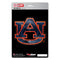 Auburn Tigers Decal 5x8 Die Cut 3D Logo Design