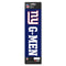 New York Giants Decal Die Cut Slogan Pack