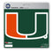 Miami Hurricanes Decal 8x8 Die Cut
