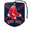 Boston Red Sox Air Freshener Shield Design 2 Pack