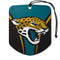 Jacksonville Jaguars Air Freshener Shield Design 2 Pack