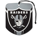 Oakland Raiders Air Freshener Shield Design 2 Pack