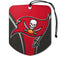 Tampa Bay Buccaneers Air Freshener Shield Design 2 Pack