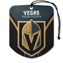 Vegas Golden Knights Air Freshener Shield Design 2 Pack