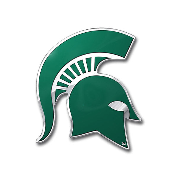Michigan State Spartans Auto Emblem - Color