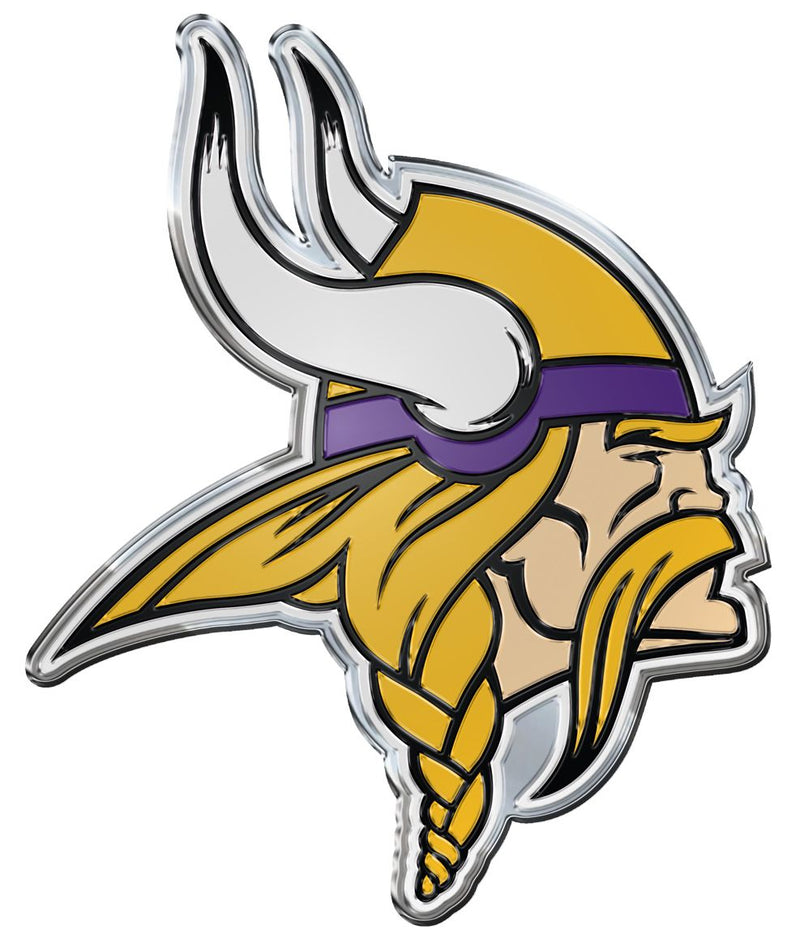 Minnesota Vikings Auto Emblem - Color