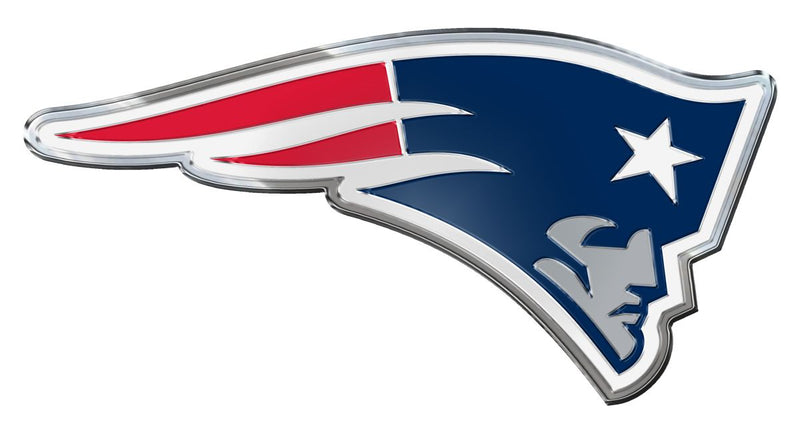 New England Patriots Auto Emblem - Color