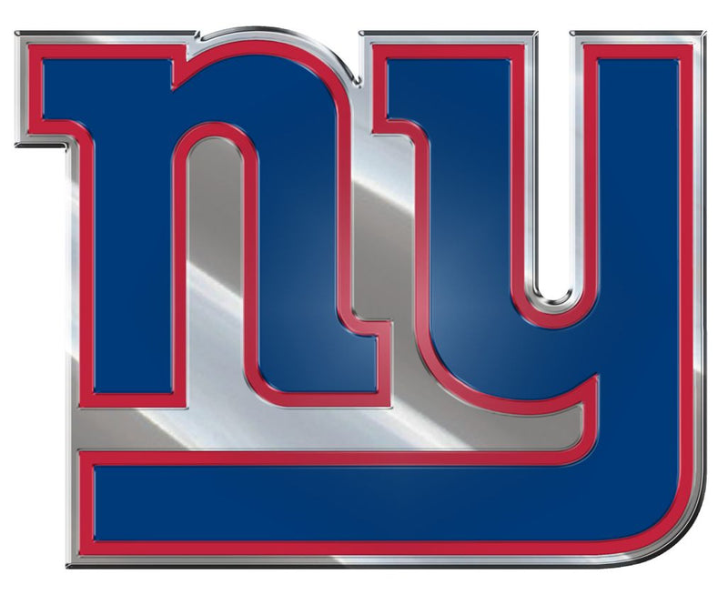 New York Giants Auto Emblem - Color