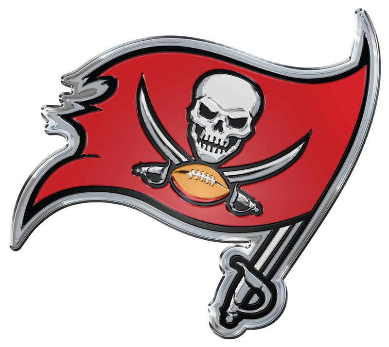 Tampa Bay Buccaneers Auto Emblem - Color