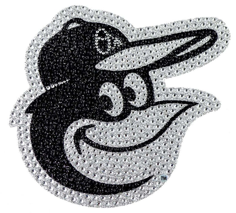 Baltimore Orioles Auto Emblem Rhinestone Bling