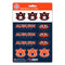 Auburn Tigers Decal Set Mini 12 Pack