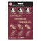 Florida State Seminoles Decal Set Mini 12 Pack