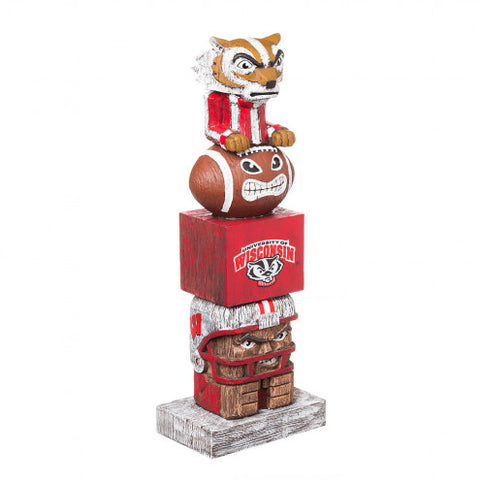 NCAA - Wisconsin Badgers - Tiki Totems