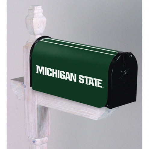 Michigan State Spartans Mailbox Cover