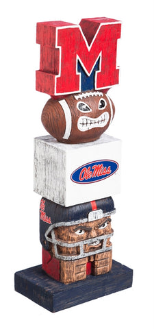 NCAA - Mississippi Rebels - Tiki Totems