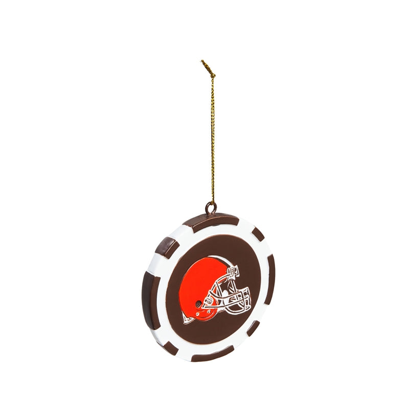 Cleveland Browns Ornament Game Chip - Special Order