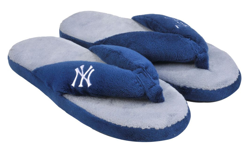 New York Yankees Slippers - Womens Thong Flip Flop (12 pc case)