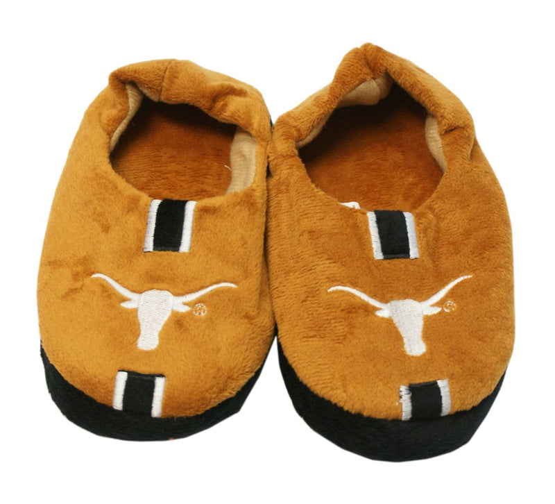 Texas Longhorns Slippers - Youth 4-7 Stripe