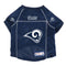 Los Angeles Rams Pet Jersey Size L