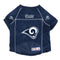 Los Angeles Rams Pet Jersey Size XL