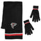 Atlanta Falcons Scarf and Glove Gift Set Chenille