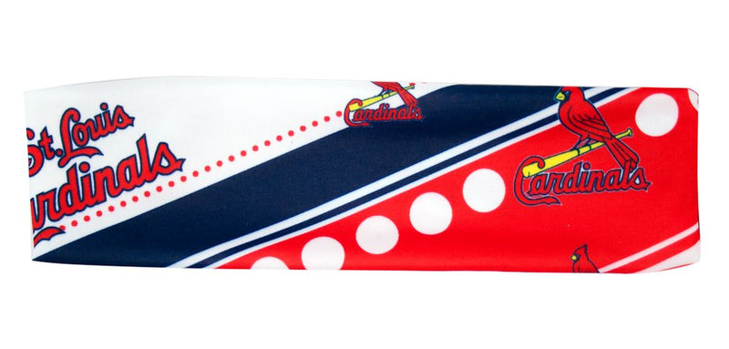 St. Louis Cardinals Stretch Patterned Headband