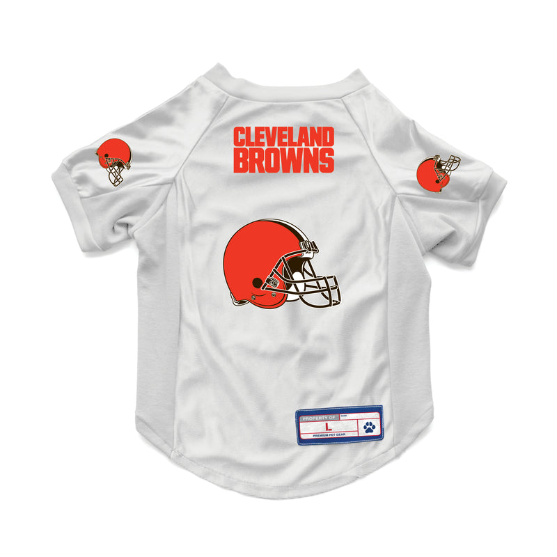 Cleveland Browns Pet Jersey Stretch Size XS