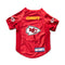 Kansas City Chiefs Pet Jersey Stretch Size XL