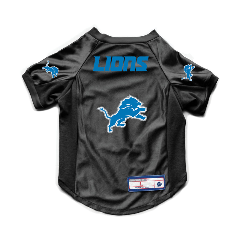 Detroit Lions Pet Jersey Stretch Size XS